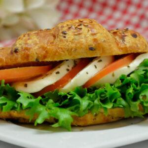 Mozzarella-croissant