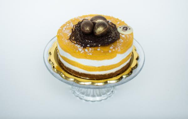 mango maracura tort